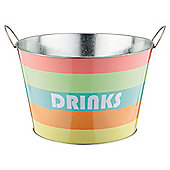 Bright Stripe Drinks Bucket