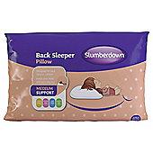 Slumberdown Back Sleeper Pillow