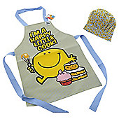 Mr. Men pvc Apron & Chefs Hat
