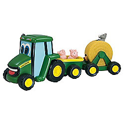 Johnny Tractor and Friends County Fair Wagon Ride