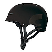 Carrera E00390 X-01 Skate Helmet Matt Black Small Medium 54-58cm
