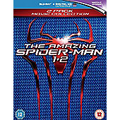 The Amazing Spider-Man 1 & The Amazing Spider-Man 2 (Blu-ray)