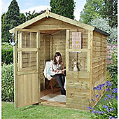 6 x 6 Rock Stroud Summerhouse Garden Wooden Summerhouse