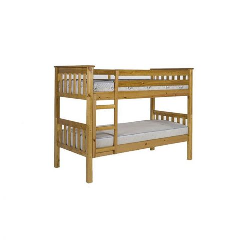 Verona Barcelona Short Length Kids Bunk Bed - Single - Pine