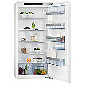 AEG SKS71200F0 Integrated Larder Fridge in White A+ energy rating