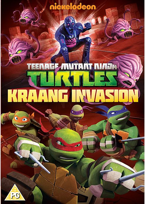 Teenage Mutant Ninja Turtles: Kraang Invasion (DVD Boxset)