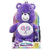 Care Bears Medium Soft Toy with DVD - Share Bear