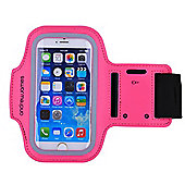 Andrew James Smartphone Running Armband In Pink