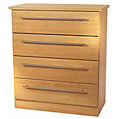 Welcome Furniture Sherwood 4 Drawer Chest - English Oak