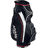 Adams Golf Mens Golf Bag (Cart) in Black & Silver