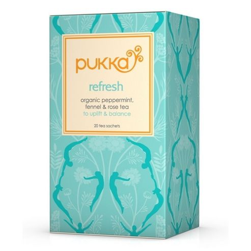 Pukka Refresh Pitta - Peppermint, Licorice & Rose 20 Tea Bags