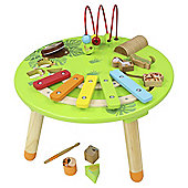 Carousel Wooden Musical Activity Table