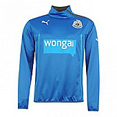 2013-14 Newcastle Puma Half Zip Training Jacket (Blue) - Blue