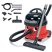 Numatic NRV200-22 Red Commercial Bagged Cylinder Vacuum Cleaner - Red.