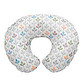 Boppy Cotton Nursing Pillow Slipcover (Silverleaf)