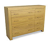 Urbane Designs Jive 4 Over 4 Drawer Chest