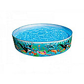 Coral Reef Snapset Paddling Pool 8ft - 58472