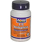 Now 4 x 6 Acidophilus 60 Capsules
