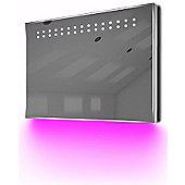 Ambient Ultra-Slim LED Bathroom Mirror With Demister Pad & Sensor K12P