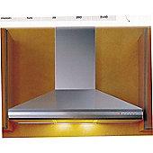 70cm Wide Pulsar Chimney Cooker Hood (3 speed settings) in Stainless Steel