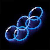 Blue Glow Stick Bracelets