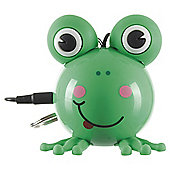 KitSound Mini Buddy Frog Speaker Compatible with any 3.5 mm Jack device