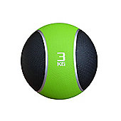 Confidence Medicine Ball 3Kg Gym Fitness Mma Core Weight Training