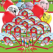 Farmhouse Fun Deluxe Party Pack for 16