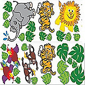 Jungle Wall Stickers - Exclusive range
