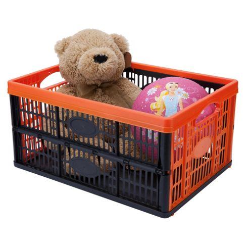 Tontarelli Folding Crate Orange
