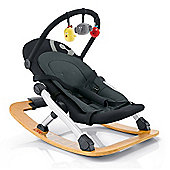 Concord Rio Baby Rocker with Toy Bar (Phantom Black)