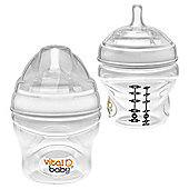 Vital Baby Nurture Breast-like Feeding Bottle 150ML Twin Pack