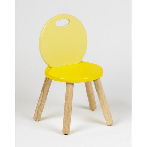 Pin Two-Tone Chair in Yellow