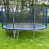 Jump Star Trampoline and Enclosure Bumper Package