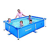 "Rectangular Frame Paddling Pool 94"" x 59"" x 23"" - 56041"