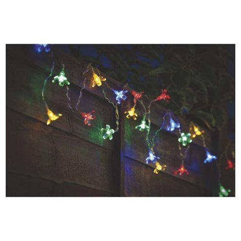 Buy Tesco 20 Mini Flower Solar String Light from our Solar Lights range - Tesco