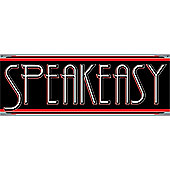 1920s Party Speakeasy Sign (each)