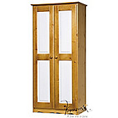 Verona Verona 2 Door Wardrobe - White