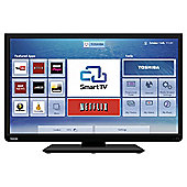 Toshiba 32W3451DB 32 Inch Smart WiFi Ready HD Ready 720p LED TV With Freeview HD
