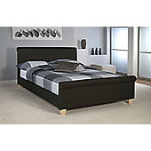 Limelight Eclipse Bedstead - Small Double - Charcoal