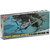 North American Aviation P-51 K/RF Mustang IVA (A14003) 1:24