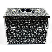 Geko Products Vanity Case / Makeup Box in Black