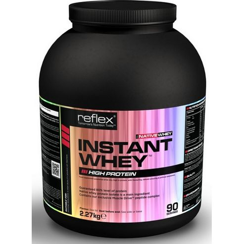 Reflex Native Instant Whey 2.27kg - Banana