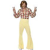 Adult 70S Disco Costume Large
