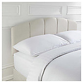 Seetall Padstow Headboard Linen Effect Cream King