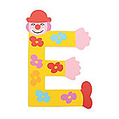 Tatiri Crazy Clown Letter E ((Yellow) Flowers)