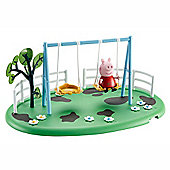 Peppa Pig Playtime Fun Playset - Swing