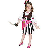 Discontinued - Pirate Girl - Child Costume 7-9 years