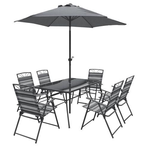 Buy Wentbridge 8 Piece Garden Dining Set From Our All Garden Furniture Range
