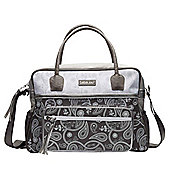 Bebejou Grey Paisley Changing Bag
